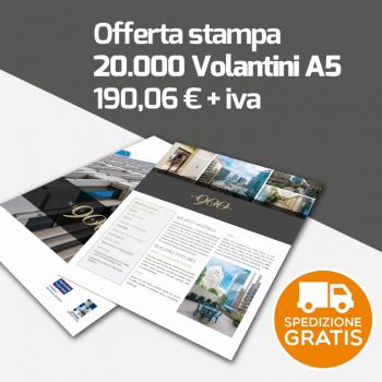 20000 Volantini A5