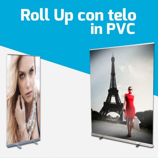 Roll up con telo in PVC