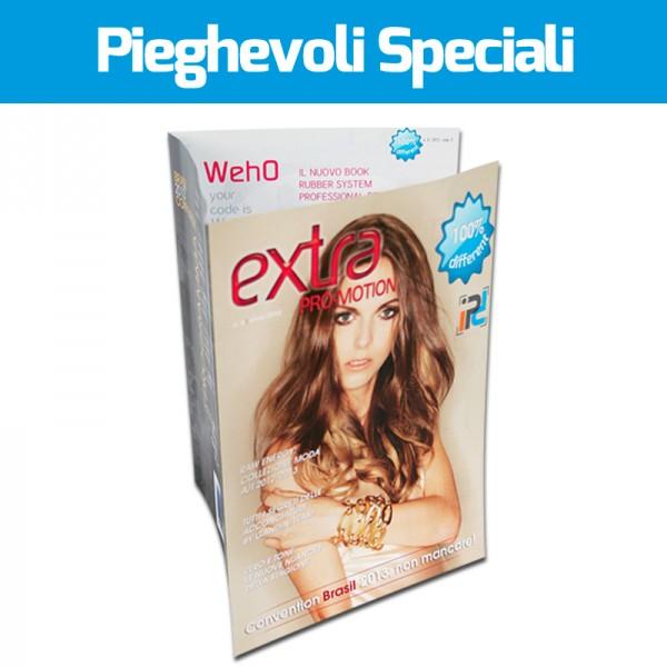Stampa Pieghevoli speciali triplo A4
