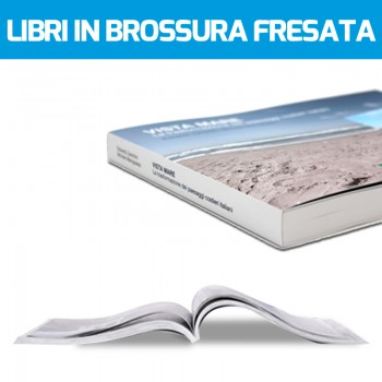 Stampa libri online in brossura fresata