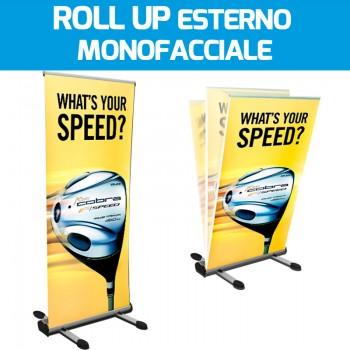 Roll Up da esterno Monofacciale