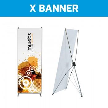Stampa X Banner: alta qualità in PVC