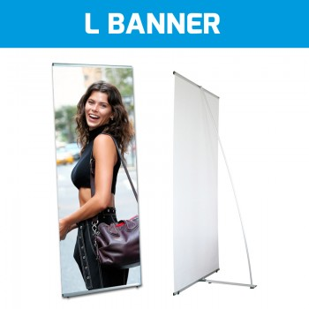 Stampa L Banner di qualità su telo in PVC