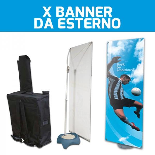 X Banner da esterno