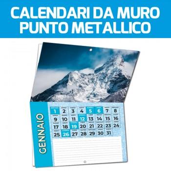 Calendari da Muro con Punto Metallico