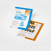 Stampa on line di volantini A6 o Flyer (10x14.8 cm)
