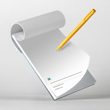 Stampa block notes personalizzati online in formato A4 - A5