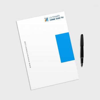 Stampa carta intestata online personalizzata