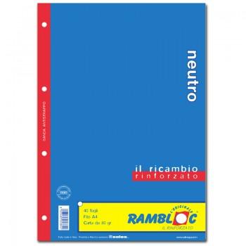 RICAMBIO BIANCO A4 NEUTRO
