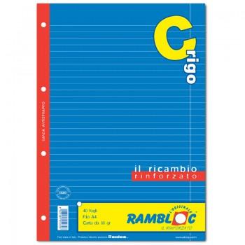 RICAMBIO BIANCO A4 RIGO C