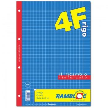 RICAMBIO BIANCO A4 RIGO B