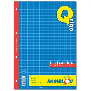 RICAMBIO BIANCO A4 RIGO Q