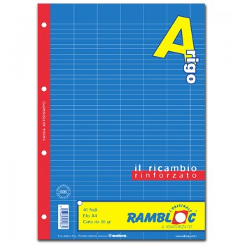 RICAMBIO BIANCO A4 RIGO A