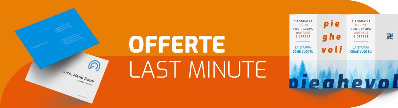 STAMPA ONLINE | OFFERTE LAST MINUTE TIPOGRAFIA ONLINE