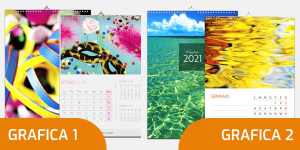 Calendario da muro 2021 formato A3 scegli la tua grafica