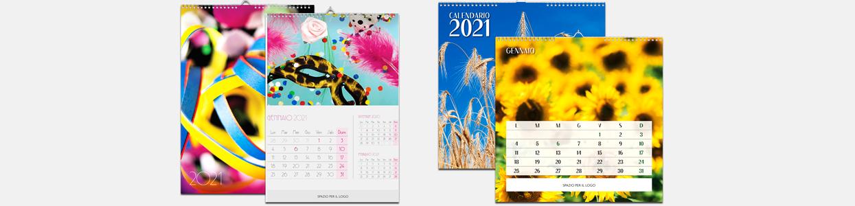 Stampa calendario da parete o da muro 2020 personalizzati online
