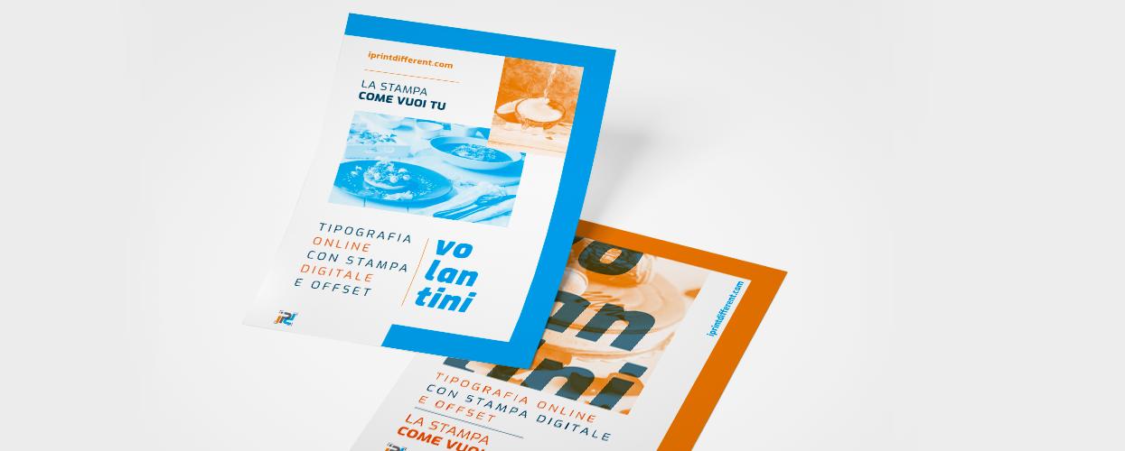 Ordina online la stampa dei tuoi flyer