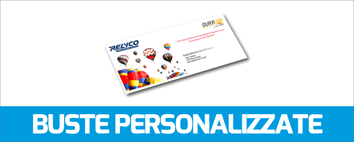 STAMPA BUSTE PERSONALIZZATE ONLINE