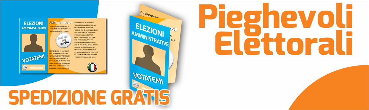 pieghevoli elettorali