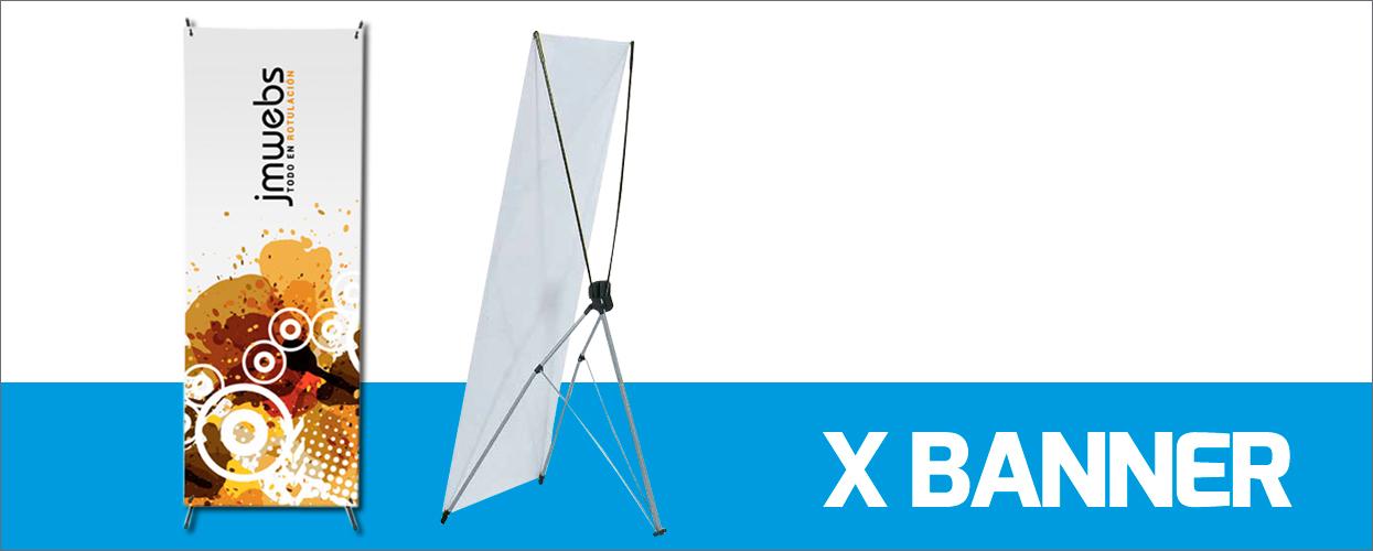 x banner espositivo per fiere, eventi, stand. Foto esempio modello in vendita nel negozio online di iPrintdifferent
