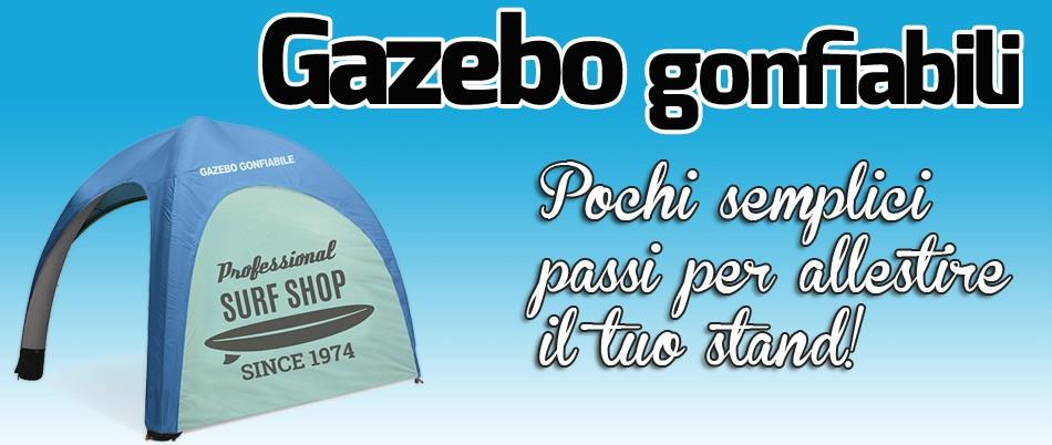 Gazebo gonfiabile